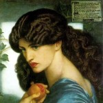 "Dante Gabriel Rossetti ""Prozerpina"""