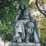 Pomnik Spinozy w pobliżu jego domu na Paviljoensgracht w Hadze (fotografia: Albeiro Rodas)