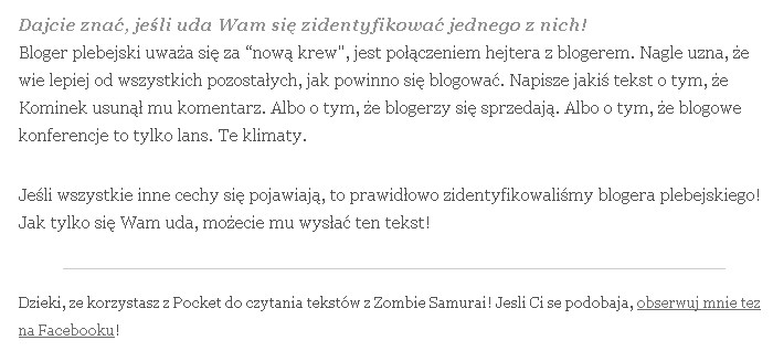 Stopka notki na Zombie Samurai