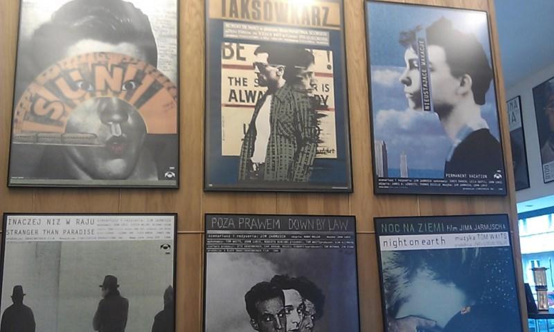 Wystawa plakatów Andrzeja Klimowskiego