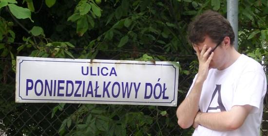 Ulica Poniedziałkowy Dół w Krakowie