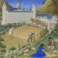 Bardzo bogate godzinki księcia de Berry (lipiec)