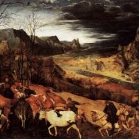 Pieter Bruegel Starszy, 'Powrót stada'