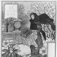 Eugène Grasset, 'Grudzień'