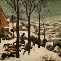 Pieter Bruegel starszy, 'Myśliwi na śniegu'