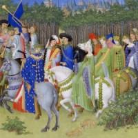 Bardzo bogate godzinki księcia de Berry (maj)