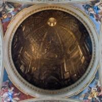 'Kopuła' kościoła św. Ignacego Loyoli w Rzymie | https://commons.wikimedia.org/wiki/File:Rome-SantIgnazio-DomeTrompeOeil.jpg